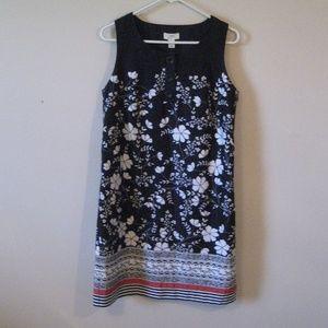 LOFT shift dress sz 8